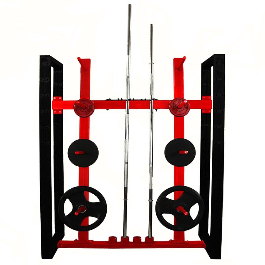 Soporte modular de discos y barras