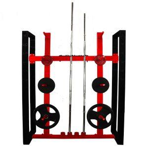 soporte barras olimpicas