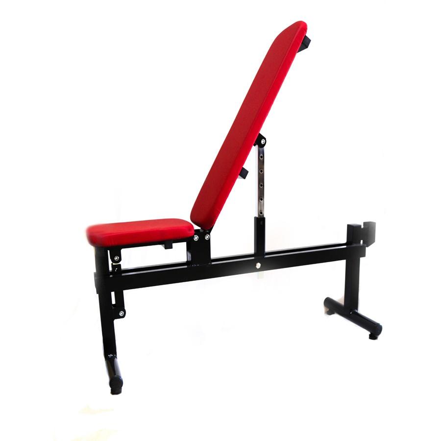 Banco de musculación reclinable y personalizable
