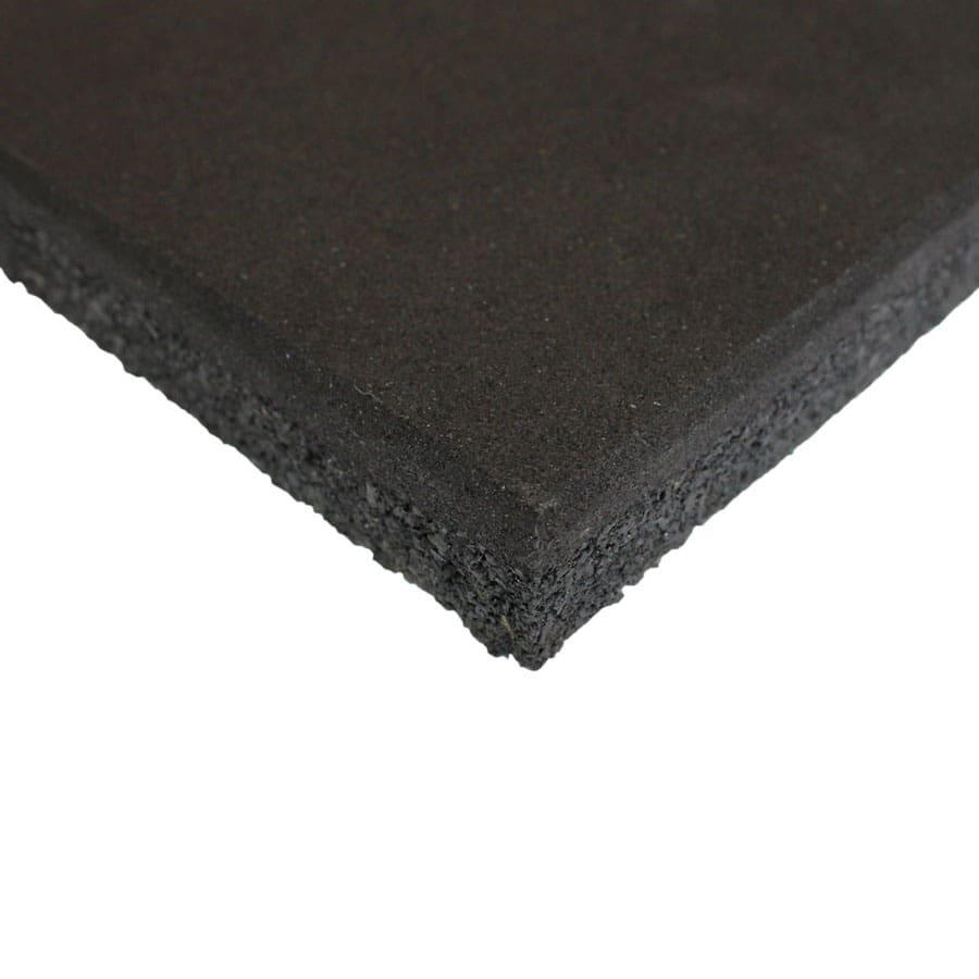Suelo de caucho de gimnasio en loseta (100x100cm)