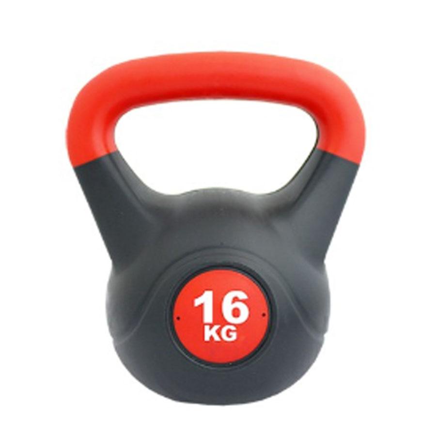 Kettlebell Pesa rusa 16 kg PVC Red