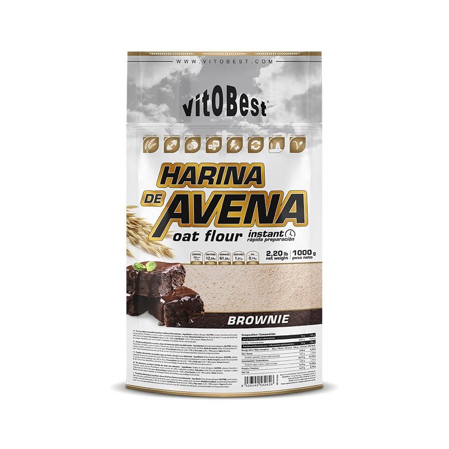 Harina de avena de 1kg