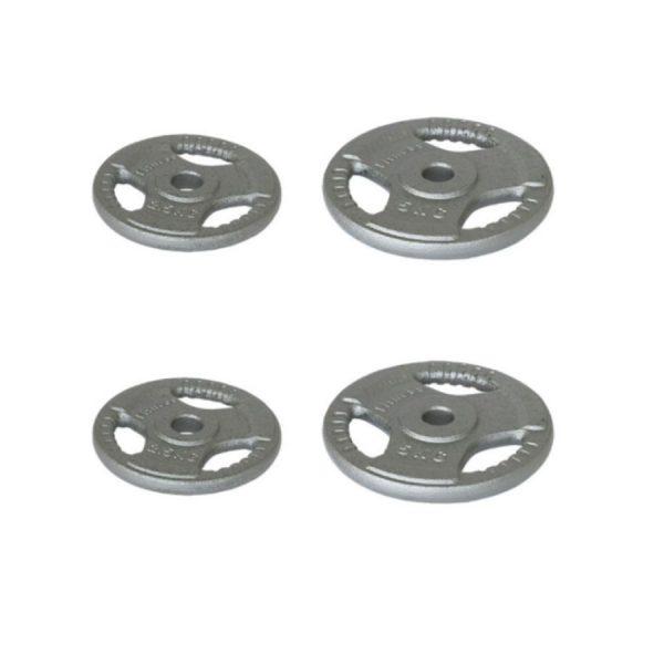Set de discos 30mm de hierro